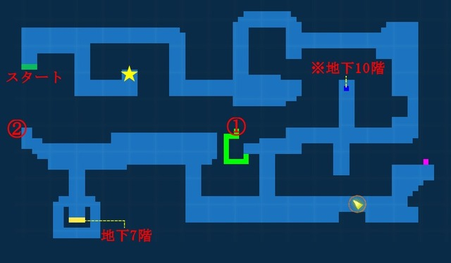 地下6階宝箱