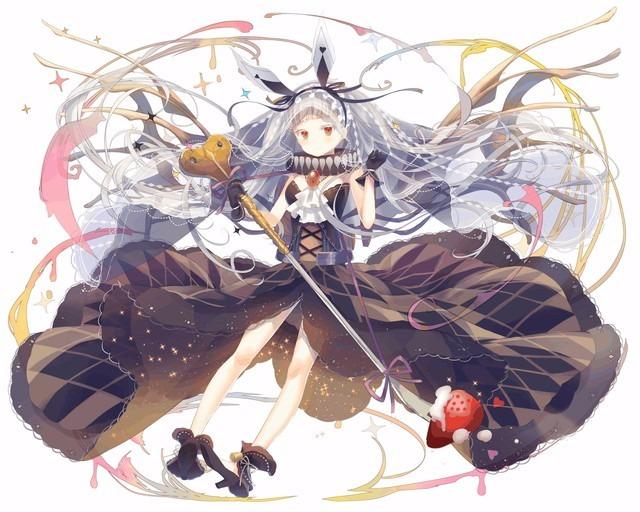 【漆黒の白】純白型ウアサハ