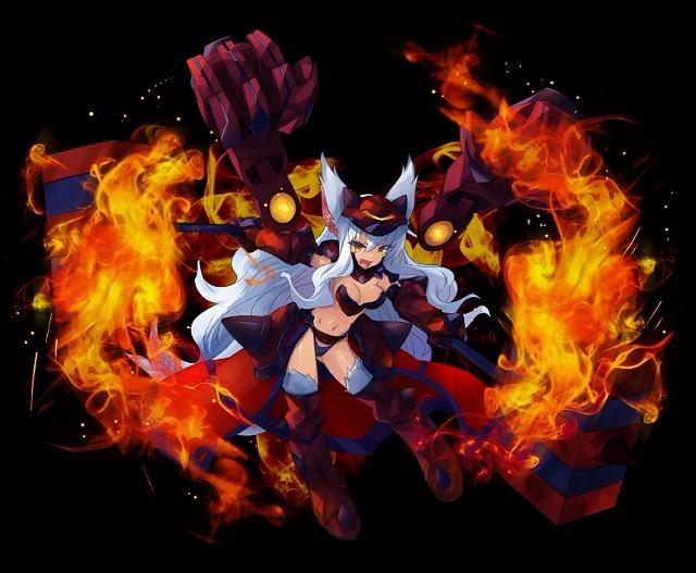 【劫火の魔狼】第二型ビスクラヴレット