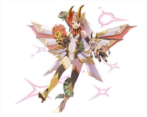 【騎士】擬人型キマイラ