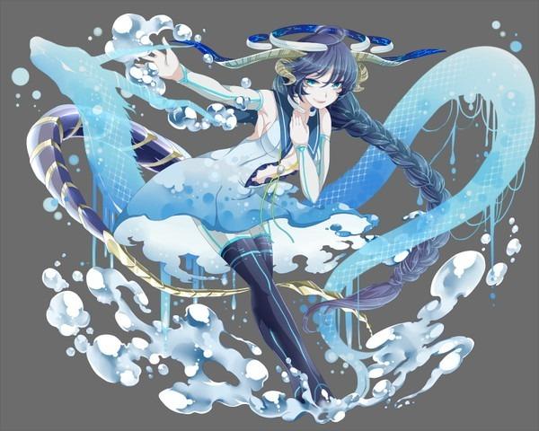 【海を統べる竜】レヴィア