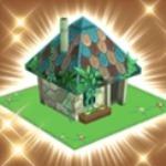 巫覡の家とウルドの飛空艇