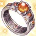 紅玉の指輪