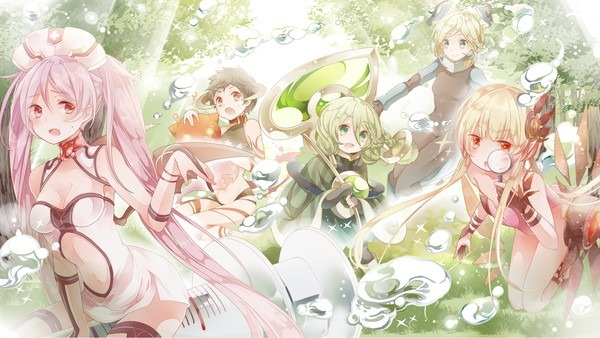 妖精達の住む森