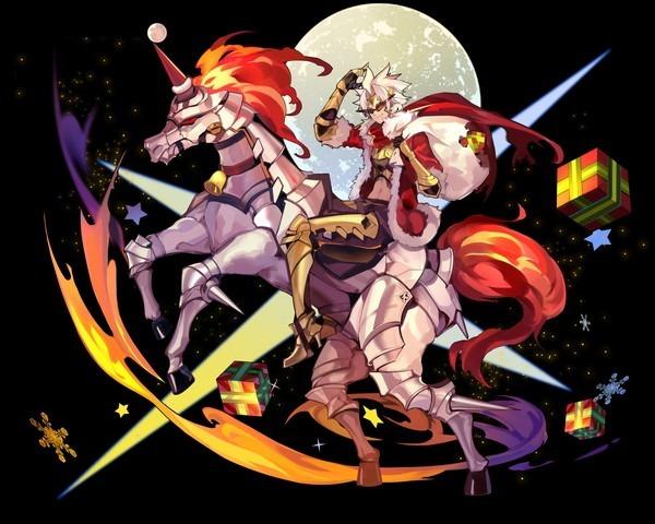 【聖夜の陽騎士】聖夜型ガウェイン&グリンゴレット
