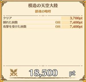 """""""銀魂の咆哮""""の獲得ポイント"""