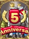 祝!5周年記念