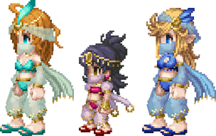 衣装装備魔法剣士