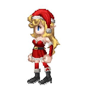 衣装:クリスマス(アンジュ用)