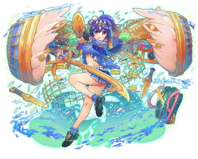 【夜を司る女神】神話型ネフテュス