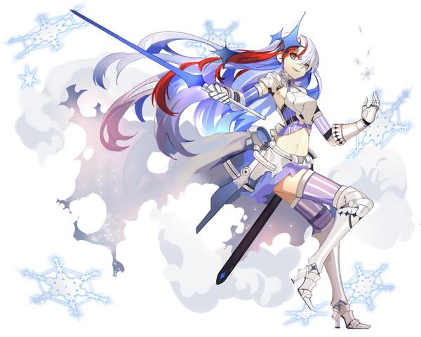 【白の剣姫】闇堕型レウィ