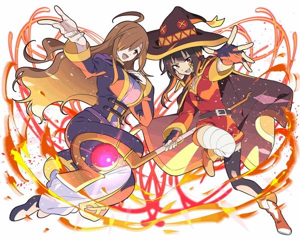 /theme/famitsu/kairi/illust/【一爆必殺】異界型めぐみん&ウィズ