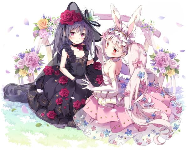 /theme/famitsu/kairi/illust/【二輪の鮮華】純白型ウアサハ&ファルサリア(歌姫)
