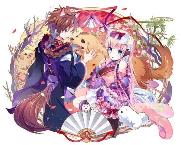 /theme/famitsu/kairi/illust/【初詣参拝】新春型_傭兵&歌姫アーサー(歌姫)
