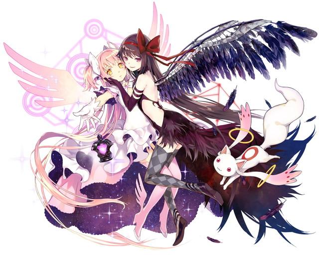 /theme/famitsu/kairi/illust/【希望と叛逆】異界型まどか&ほむら-奇跡-(歌姫)