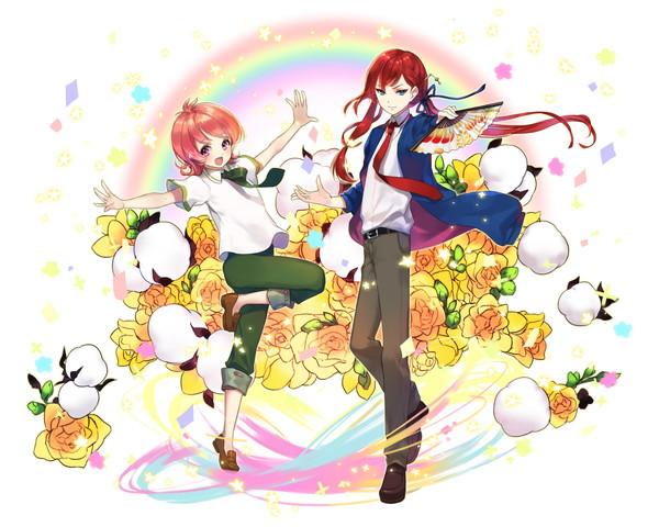 /theme/famitsu/kairi/illust/【憧れの存在】異界型ユキノジョウ&レオ(歌姫)