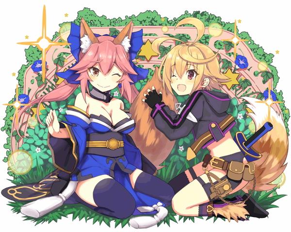 /theme/famitsu/kairi/illust/【狐と狐?】異界型_玉藻の前&盗賊アーサー(盗賊)