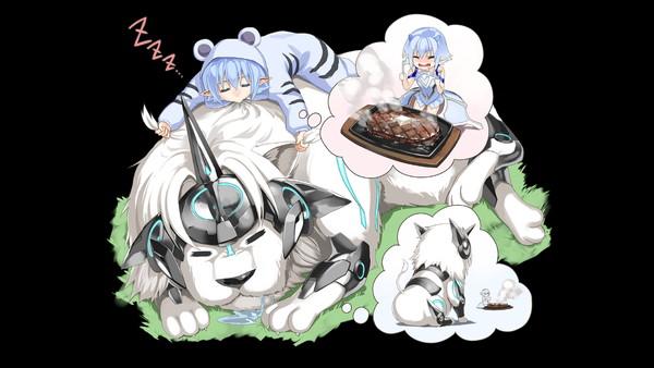 /theme/famitsu/kairi/illust/【獅子の休息】添寝型ユーウェインのライオン