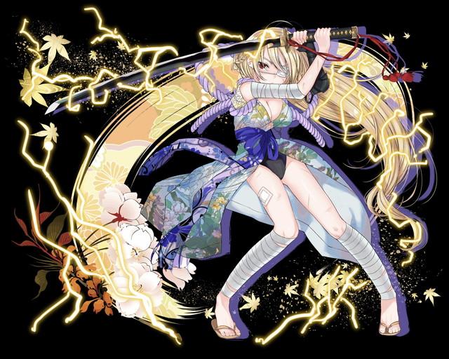 /theme/famitsu/kairi/illust/【番犬の雷刀】聖装型カラドボルグ