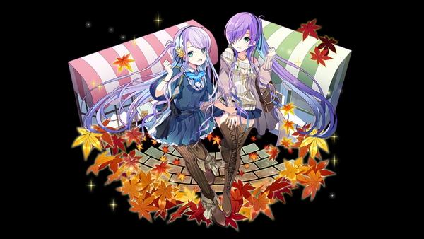 /theme/famitsu/kairi/illust/【秋空の双宝石】私装型ミディール&エーディン(歌姫)