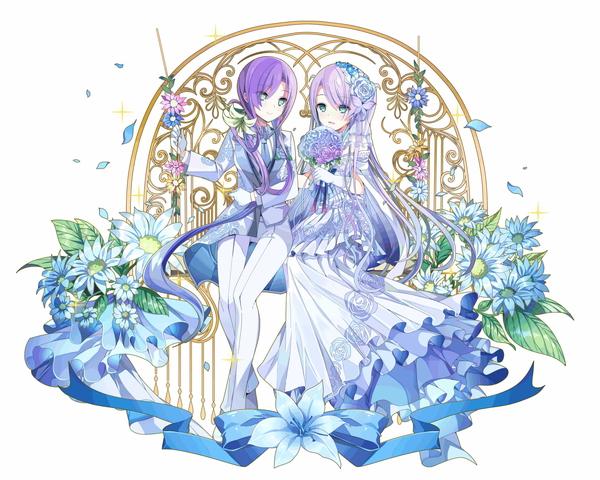 /theme/famitsu/kairi/illust/【純白の双宝石】純白型ミディール&エーディン(富豪)