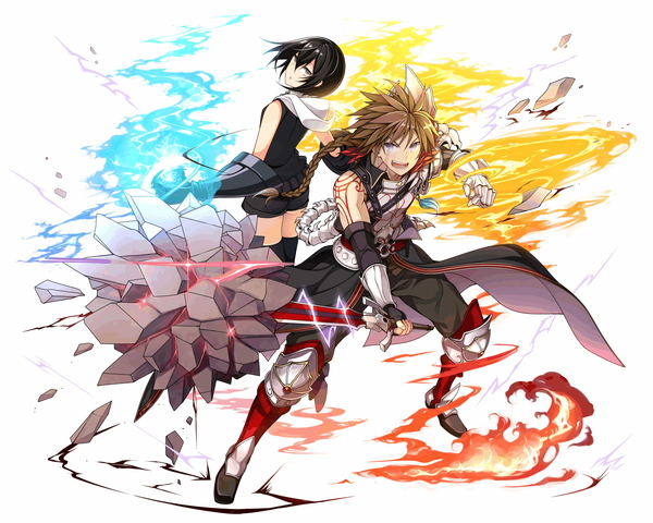 /theme/famitsu/kairi/illust/【絆の炎】相棒型_傭兵アーサー&エターナルフレイム(歌姫)