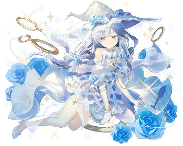 /theme/famitsu/kairi/illust/【蒼薔薇の花嫁】純白型ガネイダ(富豪)