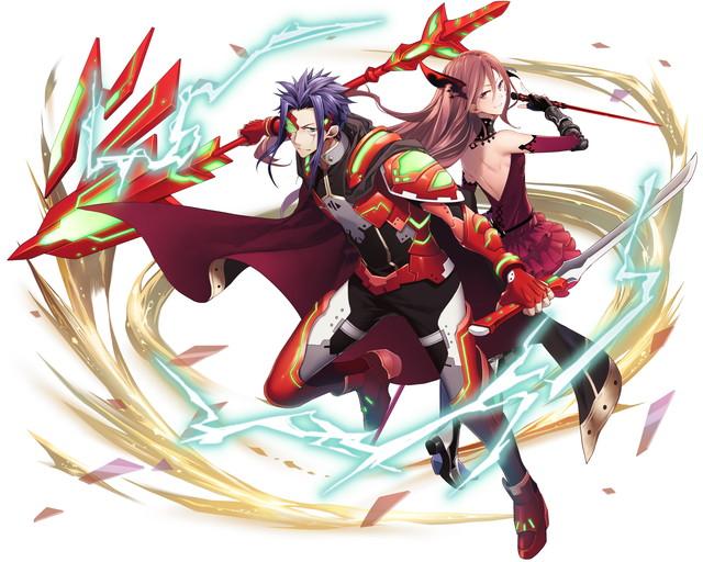 /theme/famitsu/kairi/illust/【騎士】感謝型クーホリン&レウィ(傭兵)