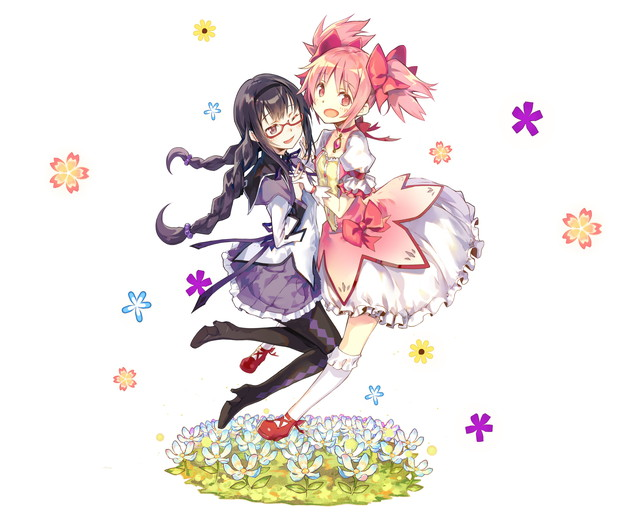 /theme/famitsu/kairi/illust/【騎士】異界型まどか&ほむら-奇跡-(富豪)