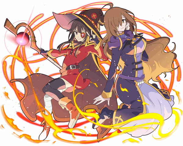 /theme/famitsu/kairi/illust/【騎士】異界型めぐみん&ウィズ
