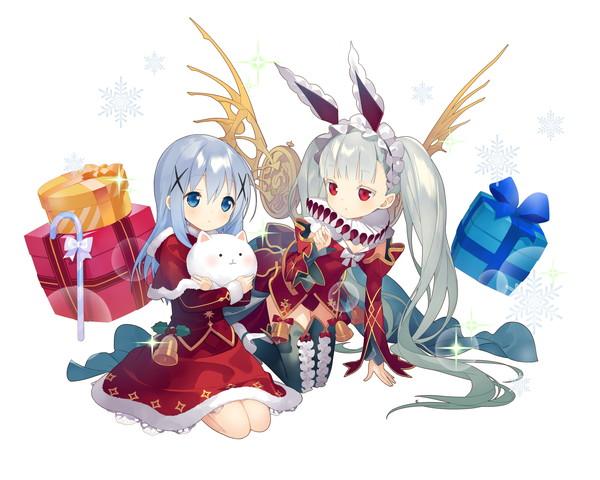 /theme/famitsu/kairi/illust/【騎士】異界型チノ&ウアサハ(歌姫)