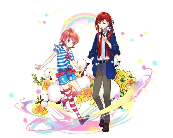/theme/famitsu/kairi/illust/【騎士】異界型ユキノジョウ&レオ(歌姫)