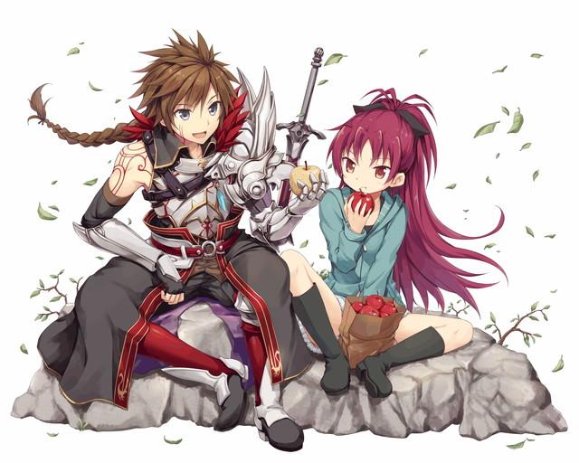 /theme/famitsu/kairi/illust/【騎士】異界型_杏子&傭兵アーサー