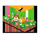 ツムツム花壇 B