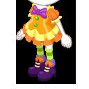 ハロウィーンスカート