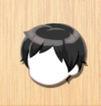 ショートヘア 黒