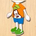グーフィーTシャツ橙