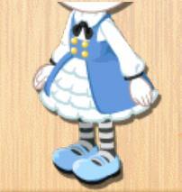 アリス風ドレス