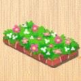 いろどり花壇 赤