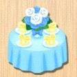 パーティテーブル 黄