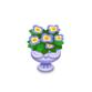 エレガントな花鉢