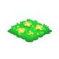 お花の芝生 黄