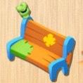 とぼけたベンチ
