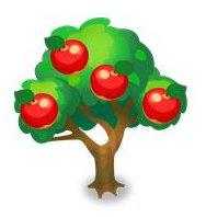 ハニーアップルの木
