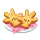 てぶくろ型さくさくクッキー