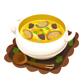 木こりのキノコスープ