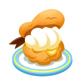 マリン帽のシュークリーム