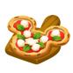 厳選素材のとろーりピザ