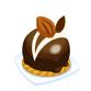 森のまんまるチョコケーキ