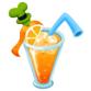 さわやかオレンジジュース